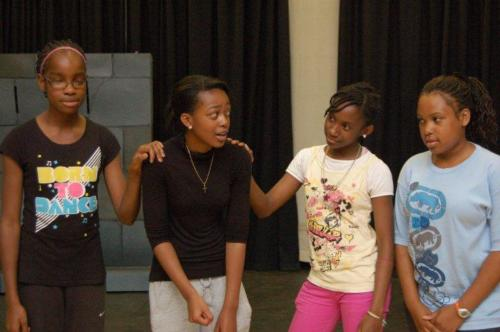 Black History summer drama programme - funded by Sandwell Council 2010.
